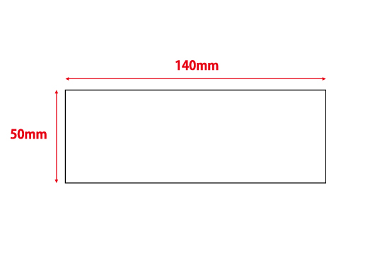 50×140mm