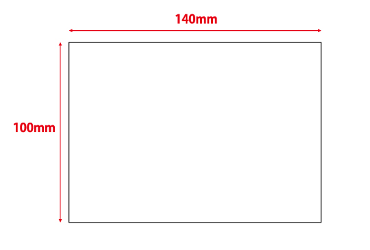 100×140mm