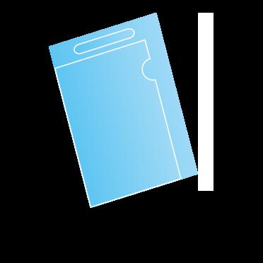 バッグ・封筒型クリアファイル
